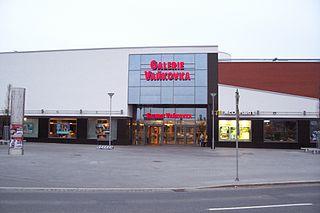Nákupní centrum Vaňkovka