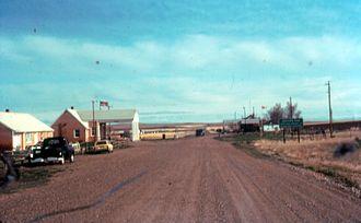 Saskatchewan Highway 4 - Image: Val marie border crossing usa into canada