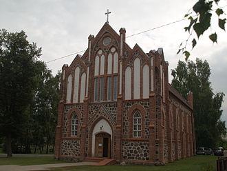 Valga, Estonia - Image: Valga katoliku kirik 2