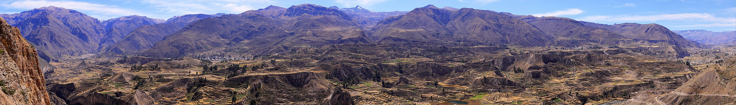 colca canyon travel guide at wikivoyage