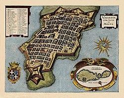 מפה עתיקה של ולטה
