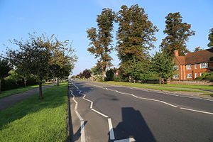 A1214 road - Image: Valley Road Ipswich