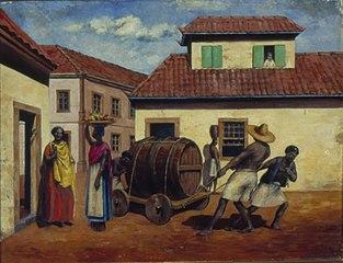 Cena do Porto de Santos, 1826