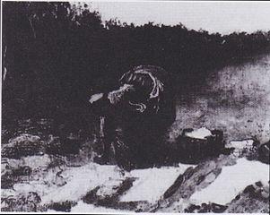 Peasant Woman Laundering