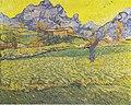 Van Gogh - Wiese und Baum mit Blick auf den Mont Gaussier.jpeg