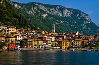 Varenna and mountain from ferry.jpg