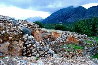 Vasiliki, Lasithi village in Greece