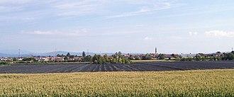 Albaredo d'Adige - View of the town
