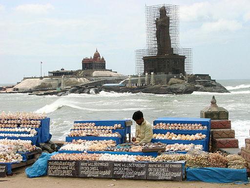 Vendor at Seafront - Kanyakumari - India