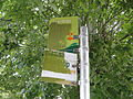 Ventnor Park bus stop flags in July 2011.JPG