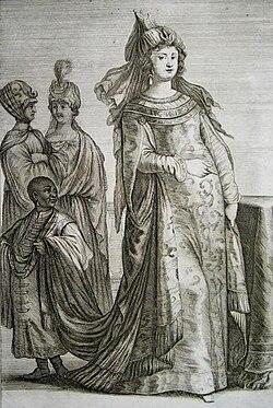 Vera Effigies Turcorvm Imperatoris Ibrahim Filii, Et Sultanæ, Eiusdem Matris (1707)