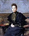 Vera Kharitonenko by François Flameng (1893, Hermitage).jpg