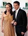 Vera Russwurm and Alfons Haider, Women's World Awards 2009.jpg