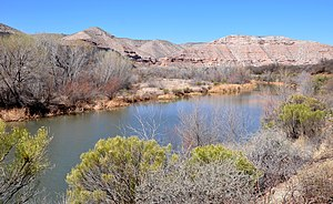 Verde River - Near Clarkdale along Sycamore Canyon Road