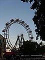 Vergnügungsstätte, Riesenrad sunset.jpg