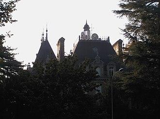 Versoix - Roof of Villa Bartholony