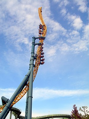 Vertical Velocity, Six Flags Great America, Gurnee, Illinois, USA.