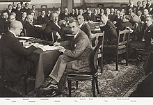 Group photo, Locarno Treaties, 1925