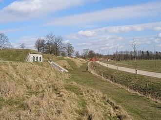 Fortifications of Copenhagen - Bunker in Vestvolden in Rødovre