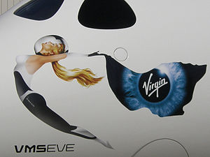 VMS Eve - VMS Eve's nose art