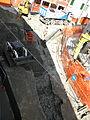 Via Cesare Battisti, lavori maggio 2011 (Rovigo) 03.JPG