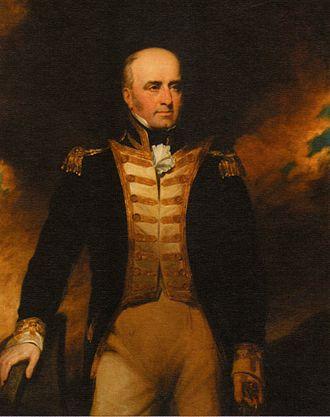 William Lukin - Portrait of Vice Admiral William Lukin by George Clint
