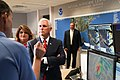 Vice President Mike Pence tours the National Hurricane Center in Miami (48135388726).jpg