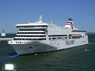 Tallink - The sister ships Romantika and Victoria I (pictured) were Tallink's first newbuildings, delivered in 2002 and 2004, respectively.