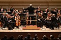 Vienna Philharmonic Orchestra, Carnegie Hall, conducted by Michael Tilson Thomas (47311081031).jpg