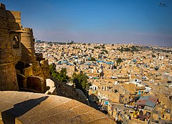 City view from the Jaisalmer Fort