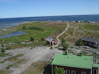 Blue Highway (tourist route) - Image: View from Norrskär lighthouse