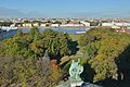 View of Alexander park and Neva River from Isaac Cathedral Saint Petersburg.jpg