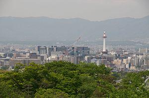 Shimogyō-ku, Kyoto - Image: View of Kyoto (7151262903)