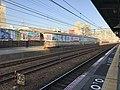 View of Sanyo-Tarumi Station from platform of Tarumi Station.jpg