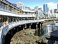 View of restaurant cafe along the waterfront Seattle Washington.JPG