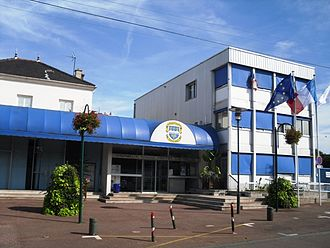 Vigneux-sur-Seine - The town hall in Vigneux-sur-Seine