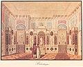 Viktor Heideloff, Bibliotheque, Merkwürdigste innere Ansichten der Gebäude und Gartenpartien in Hohenheim.jpg