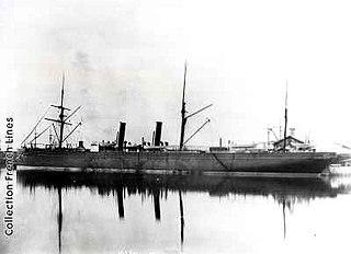 SS <i>Ville du Havre</i> French iron steamship
