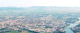 Villefranche-sur-Saône - A general view of Villefranche-sur-Saône