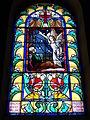 Villerest (Loire, Fr), vitrail dans l'église.JPG