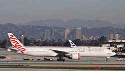 Boeing 777-300ER der Virgin Australia International