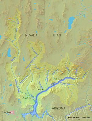 Virgin Valley - Image: Virginrivermap