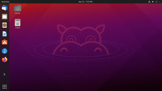 Ubuntu Linux distribution based on Debian