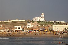 view of Huanchaco beach.