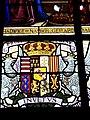 Vitrail historique de Châtenois - Armoiries ducales.jpg