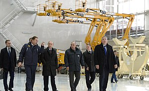 Vostochny Cosmodrome - President of Russia Vladimir Putin in Vostochny Cosmodrome, 14 October 2015