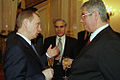 Vladimir Putin with Ion Diaconu.jpg