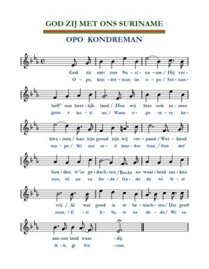 hino do suriname