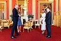 Volodymyr Zelensky, Prince William and Kate Middleton (2020-10-07) 02.jpg