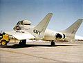 Vought F7U Cutlass parked aft view c1956.jpg